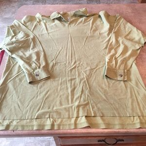 Men's preowned adidas green shirt size 2XL